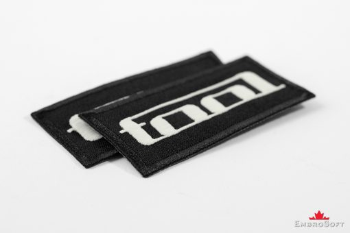 Tool Logo Embroidered Glowing Patch (3.1″ x 1.5″) Glow in the dark