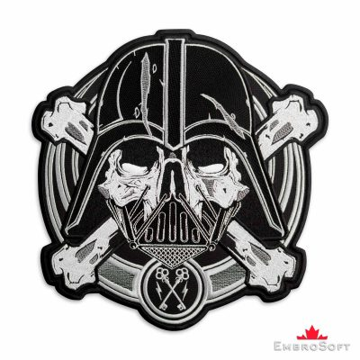 Star Wars Darth Vader Embroidered Patch Frontal Photo