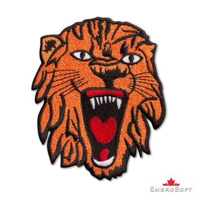 Chinese Tiger Embroidered Patch Iron On Animals, Insects, Birds