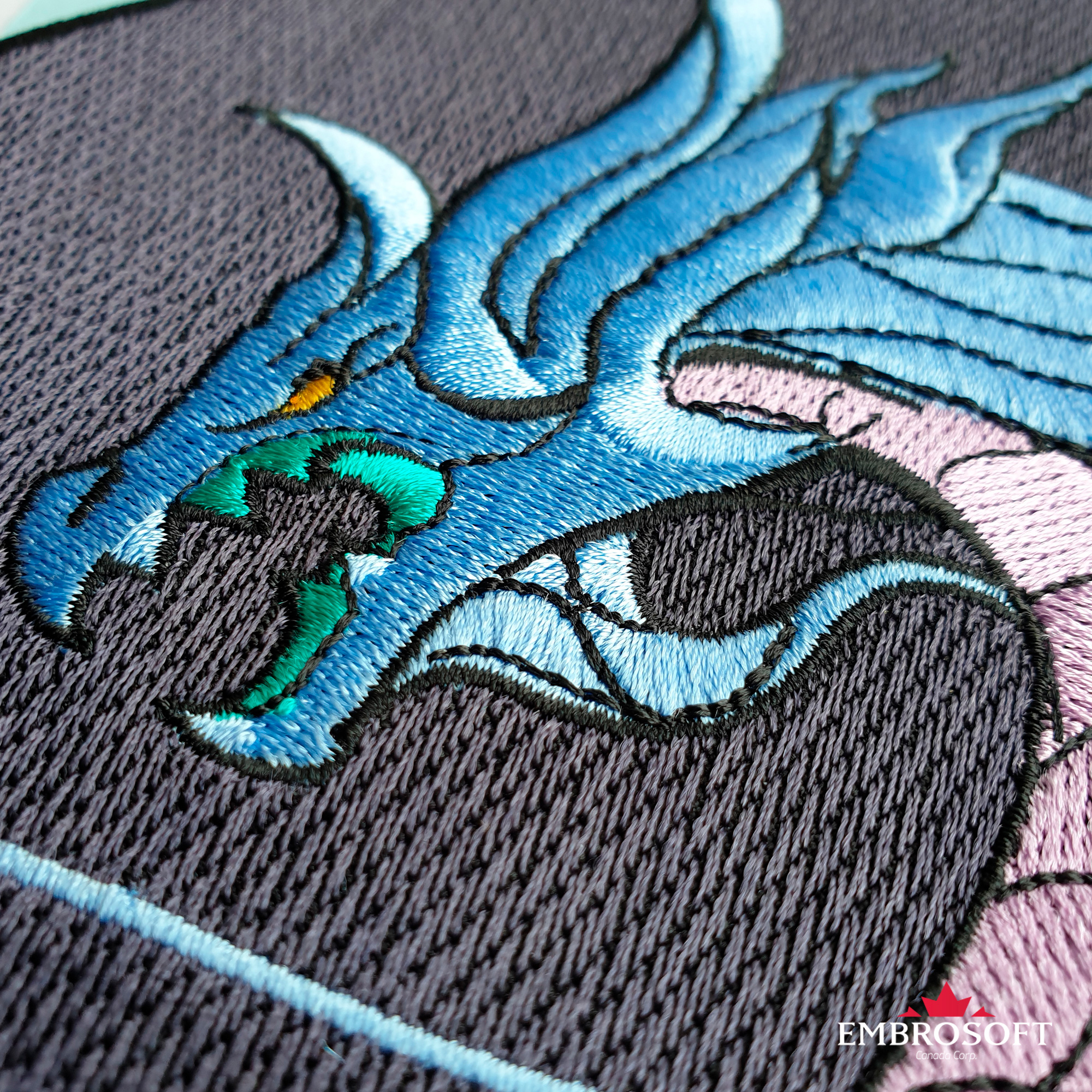 Dragon K/DA Akali from League of Legends Prestige Edition Embroidered Patch  Iron On for the Back