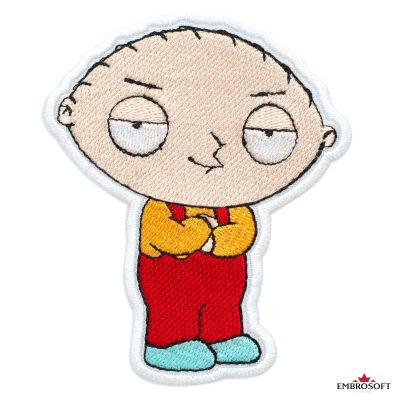 Family Guy Stewie Griffin Embroidered Patch (3.1″ x 3.7″) Cartoons