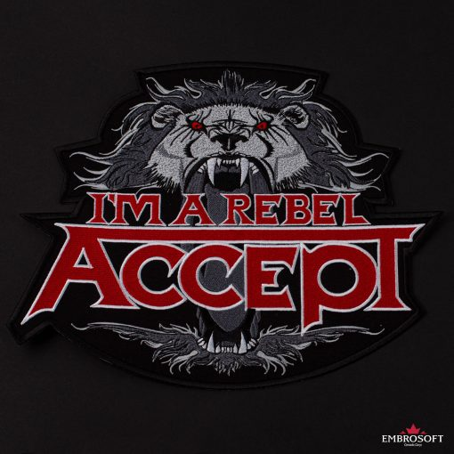Rock Band Accept Im a rebel album