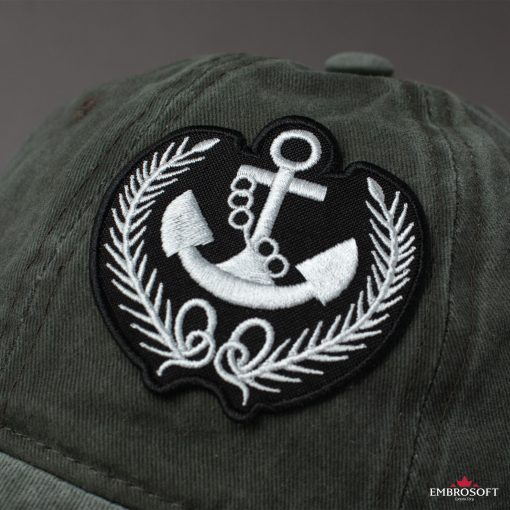 Naval Anchor with Springs gray
