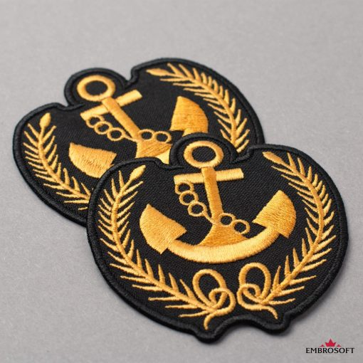 Anchor with Springs yellow patch
