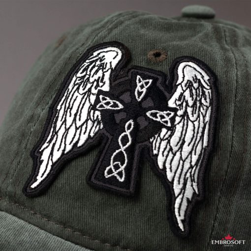 Celtic Cross with Angel Wings