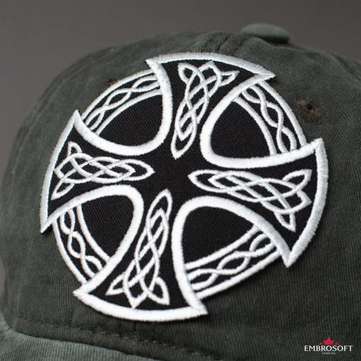 bikers patch with Celtic Pattern
