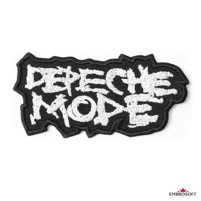 Depeche mode frontal photo classic logo