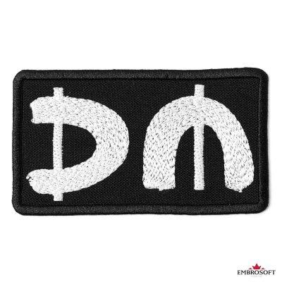 Depeche mode patch DM frontal