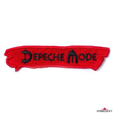 Depeche mode red patch frontal