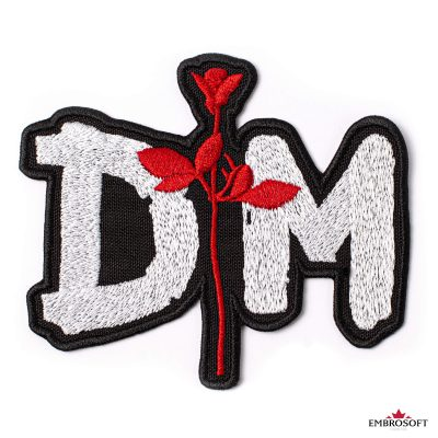 Depeche mode rose emblem patch