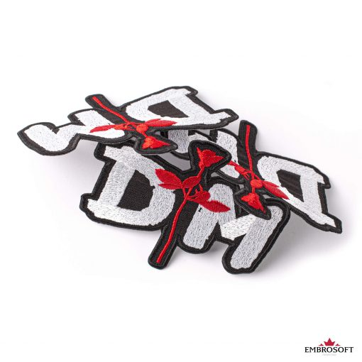 Depeche mode rose embroidered patch
