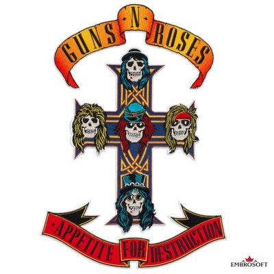 Main Logo Guns N Roses Appetite for Destruction
