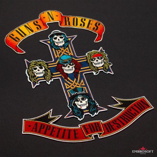 Sticjer Guns N Roses Appetite for Destruction