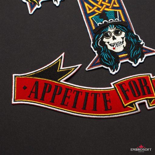 Band Logo Guns N Roses Appetite for Destruction
