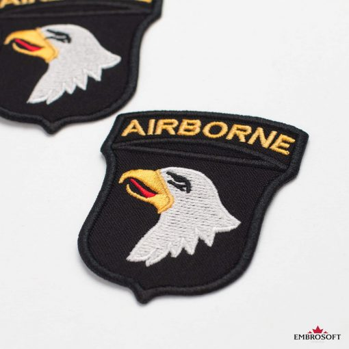 Patch Head of the Eagle with text AIRBORNE