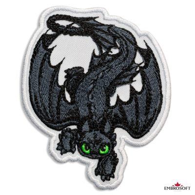How to Train Your Dragon Crawling Toothless