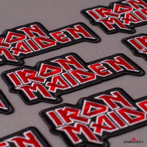 Iron Maiden logo patch