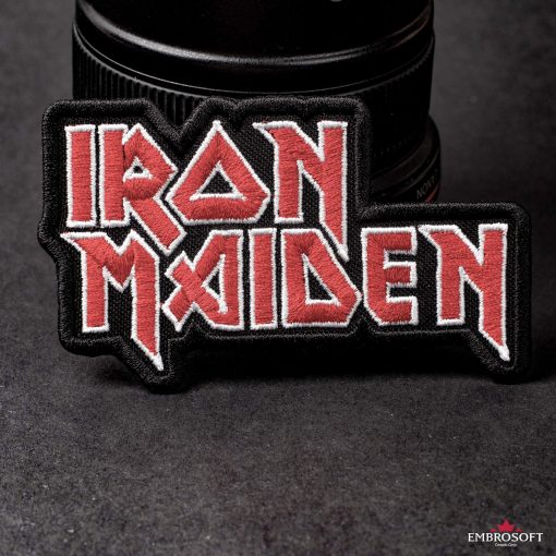 Iron Maiden jacket patch
