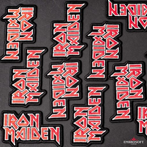 Iron Maiden backpack logo