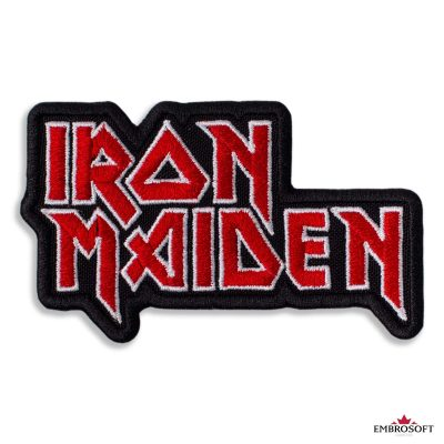 Iron Maiden logo embrosoft