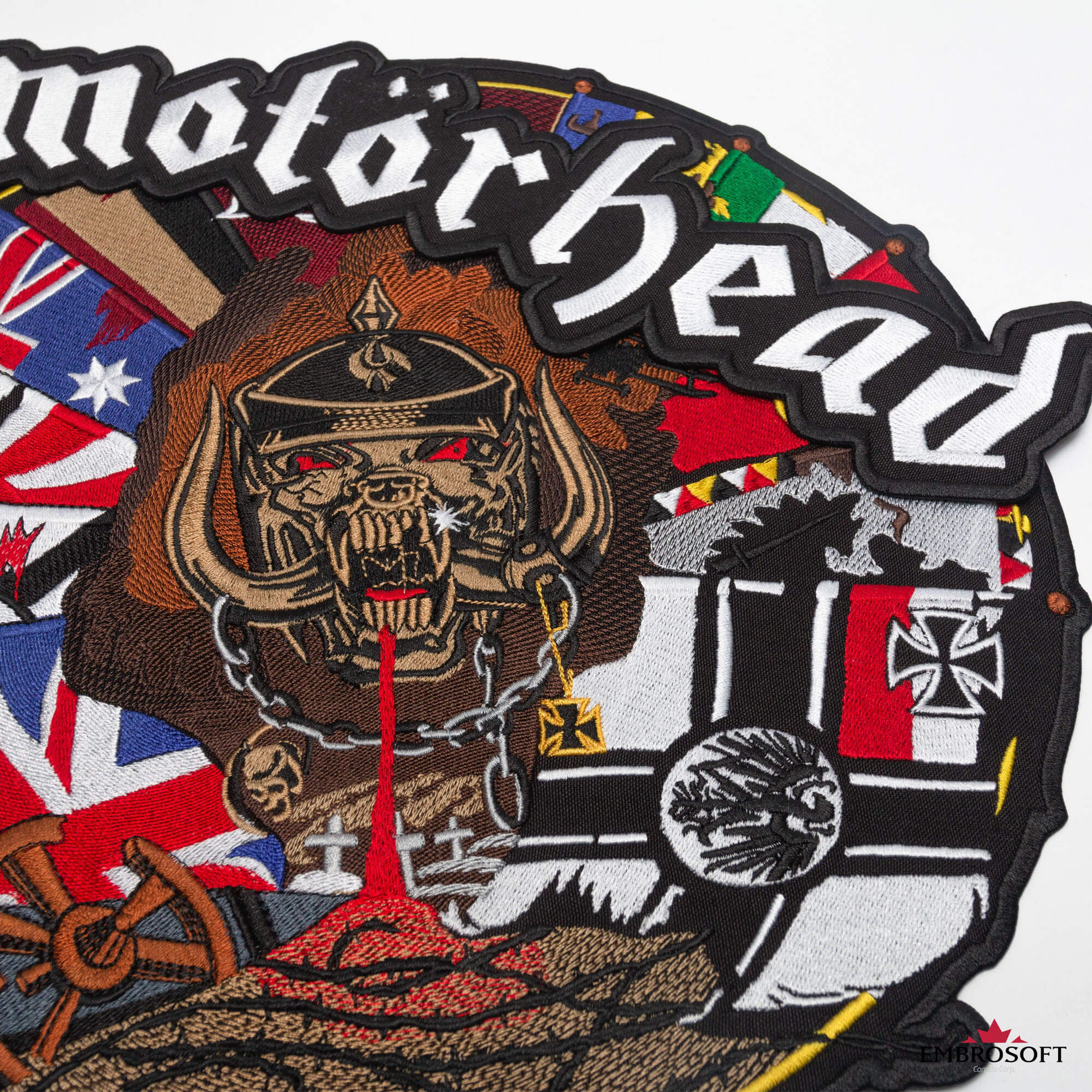 Big Back set patch Motorhead band.