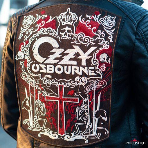 Ozzy Ozbourne jacket patch