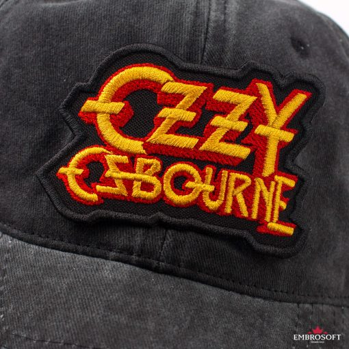 Ozzy Ozbourne Yellow red cap