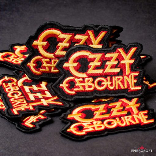 Ozzy Ozbourne Yellow red patch