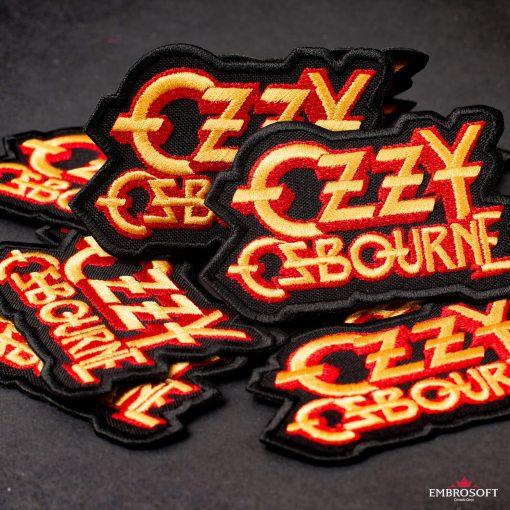 Ozzy Ozbourne Yellow jacket patch