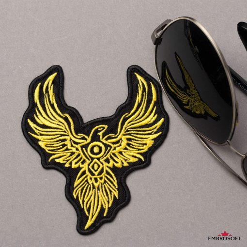 Phoenix backpack patch
