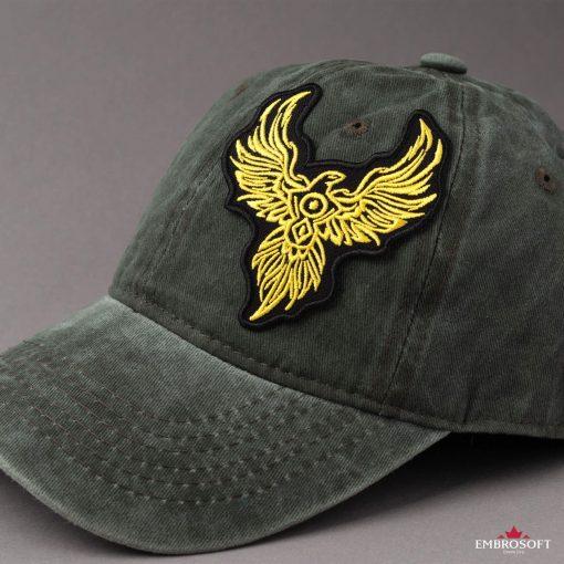 Phoenix badge for cap