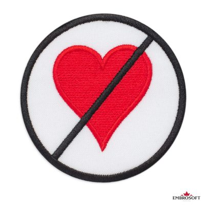 Prohibiting Heart Sign patch