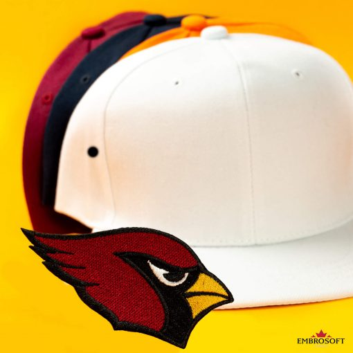 Arizona cardinals emblem embroidered patch