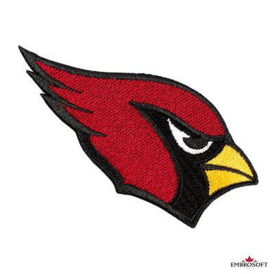 Arizona cardinals frontal patch for clothes