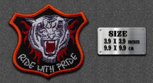 Biker animal patch Tiger Patch