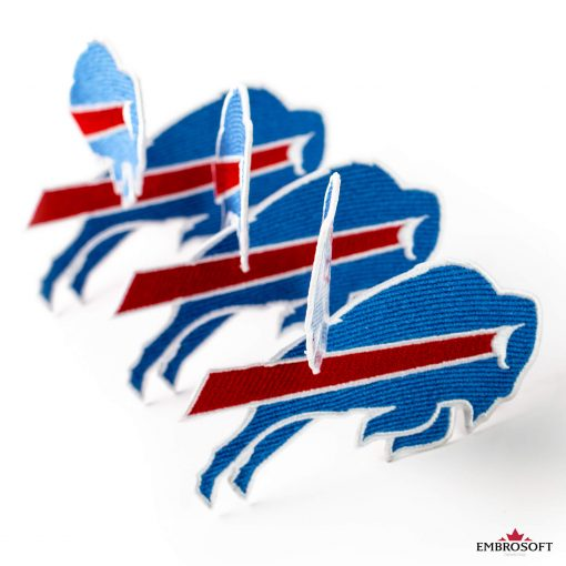 Buffalo Bills nfl team emblem embroidery