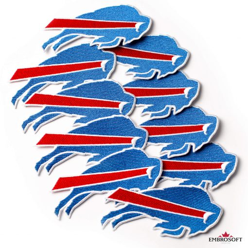Buffalo Bills sports patches for jackets