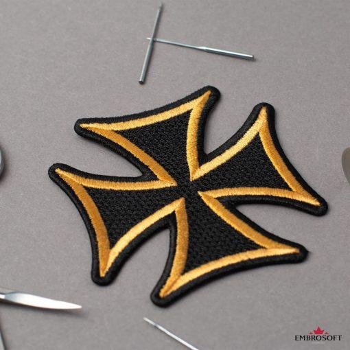 Creative Cross with yellow border
