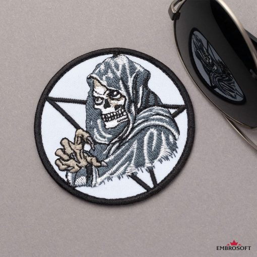Death skull patch