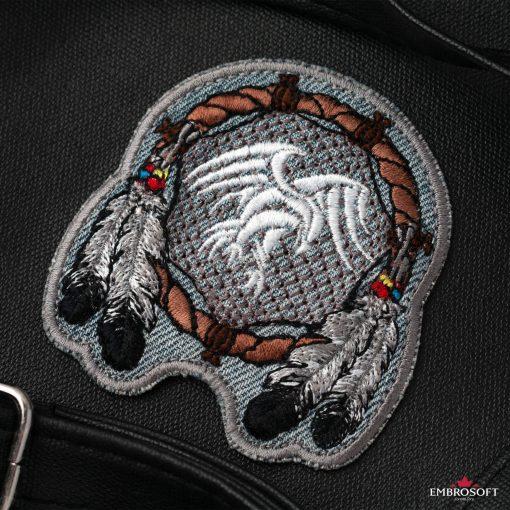 Dreamcatcher for jacket