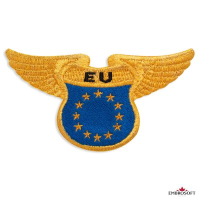 Flag of Europe embroidered patch
