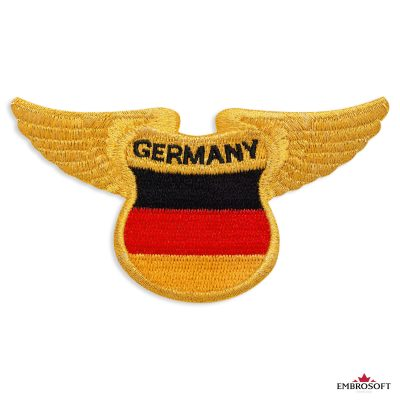 The flag of Germany Embroidered patch
