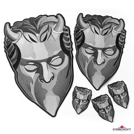 ghost mask all sizes