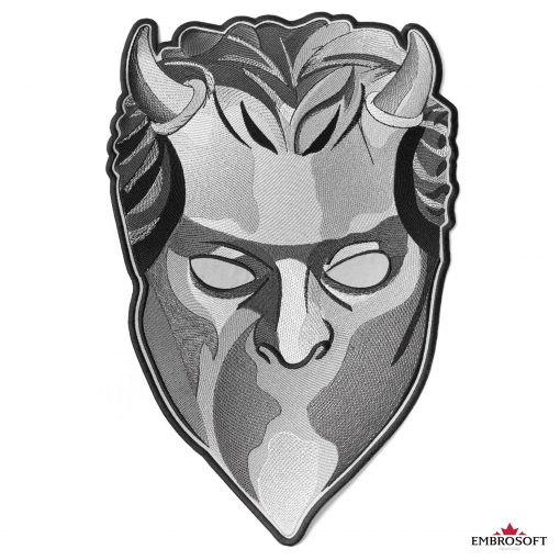 ghost mask large frontal