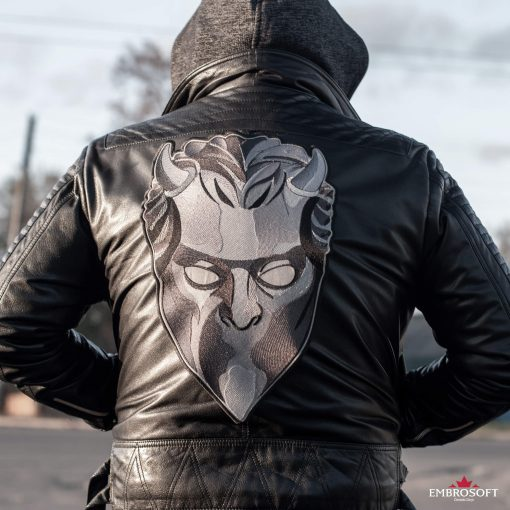ghost mask large outdoors