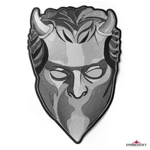 ghost mask medium frontal