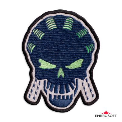 Embroidered suicide squad amanda waller frontal photo