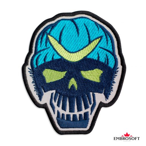 Embroidered suicide squad captain boomerang frontal photo