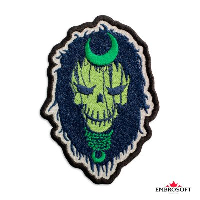 Embroidered suicide squad chantress frontal photo