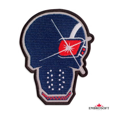 Embroidered suicide squad deadshot frontal photo